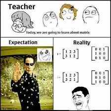 Expectation Vs Reality Meme - expectation vs reality matrix meme by ear45 memedroid