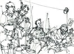 drawing people on stage brighton uk may 27 29 urban sketchers