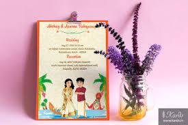 wedding invitations kerala kards creative custom designed indian wedding invitations