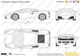 car lamborghini drawing the blueprints com vector drawing lamborghini gallardo lp560 4