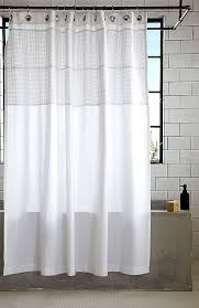 Silver And White Shower Curtain More Modern Shower Curtain Finds For A Stylish Powder Room