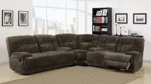 Microfiber Reclining Sofa Sets Homelegance Geoffrey Power Reclining Sectional Sofa Set