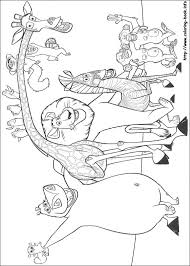 madagascar coloring picture coloring activities