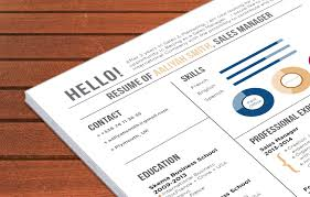 Best Resume Template In English by Resume Template Accessible Resume Mycvfactory