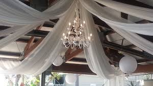 ceiling draping and draping
