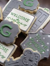 housewarming cookies 233 best home themed cookies images on decorated