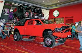 old toyota lifted the lifted trucks of sema 2014
