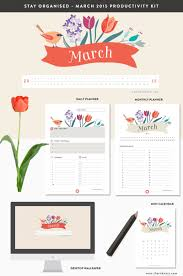 daily planner pdf free march 2015 productivity kit the ink nest blog