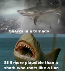 Jaws Meme - sharknado vs jaws the revenge by transformersguy1000 on deviantart