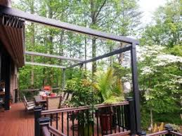 Retractable Awning For Deck Pergola Awning Is Best For Sun Wind U0026 Rain Milanese Remodeling