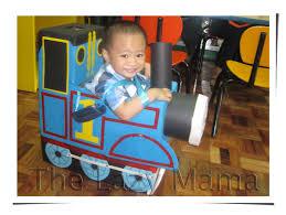 Train Halloween Costume Toddler Diy Trick Treat Costume Thomas Train Lazy Mama