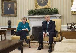 Donald Trump House Trump And Merkel Handshake Here U0027s How The President Greeted The