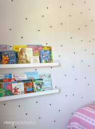 jazz up your walls with some of these 50 diy wall decals black polka dots diy black dot wall decal