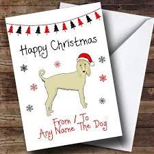 afghan hound keyring afghan hound dog personalised birthday card the card zoo