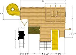 Playground Playhouse Plan 130ft Wood Plan For Kids U2013 Paul U0027s