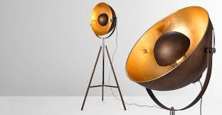 Paris Floor Lamp Chicago Floor Lamp Antique Copper And Gold Made Com