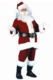 santa costume men s santa padding costumes