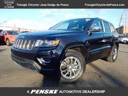 blue jeep grand cherokee 2016 2016 used jeep grand cherokee limited at fiat de ponce serving