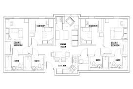 bath floor plans floor plans temple student housing