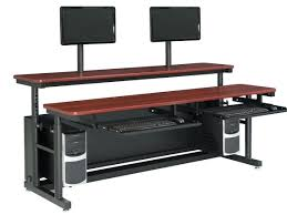 multi tiered computer desk level adjustable classroom table st versatables com