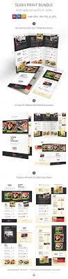 photoshop menu template 61 best sushi flyer sushi restaurant menu print templates