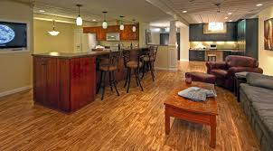 awesome vinyl flooring in basement with basement flooring options