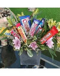Candy Bouquet Delivery Get Well Flowers Delivery Port Angeles Wa Cherry Hill Florist