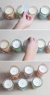 diy jar candle jelly jars and glass paint