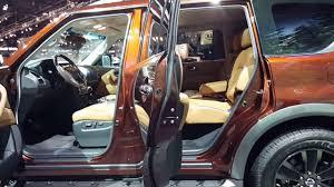 2017 nissan armada platinum interior 2017 nissan armada platinum interior walkaround 2016 chicago auto