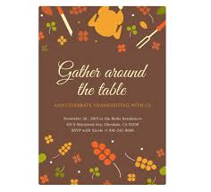 Thanksgiving Invitations Templates Free 5 Of The Best Websites To Design Your Thanksgiving Dinner Invitation