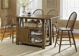 breakfast table with storage table with storage