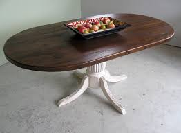 Rustic Oval Dining Table Atlanta Handmade Rustic Tables Rustic Console Table