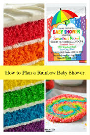 zebra print baby shower1 year birthday party locations how to plan a rainbow baby shower 1 jpg