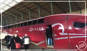 Thalys Comfort 1 Paris Bruxelas Paris A Bordo Da Classe Comfort 1 Do Thalys