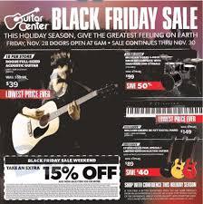 guitar center s black friday 2017 sale deals after