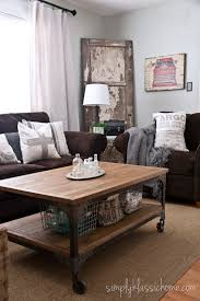 Living Spaces Sofa Table by 30 Best Accent Colors For My Brown Couch Images On Pinterest