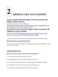 solution manual for brief principles of macroeconomics 7th edition