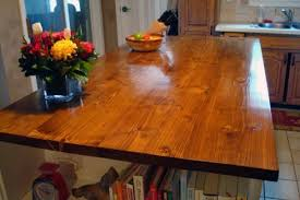 Wood Kitchen Countertops 12 Diy Wooden Kitchen Countertops To Make Shelterness
