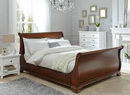 bedroom oak sleigh bed queen queen sleigh bed queen size metal