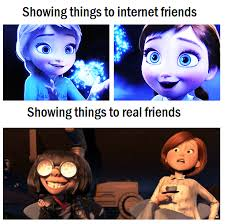 Edna Meme - internet friends frozen know your meme