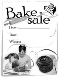 bake sales pto today