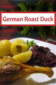 traditional roast duck recipe made just like oma