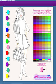 barbie coloring pages kids barbie coloring pages games