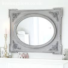 wall mirrors shabby chic wall mirrors uk shabby chic wall