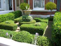 small formal garden design ideas completed various green plants