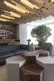 living room wood grid ceiling ideas for contemporary living room