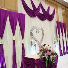wedding drapes wedding drapes with swag promotion shop for promotional wedding