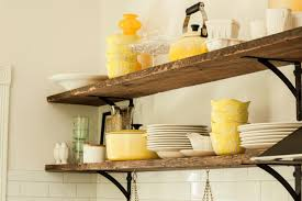 kitchen shelf decorating ideas rustic kitchen shelves decoration photos on shelves andrea outloud