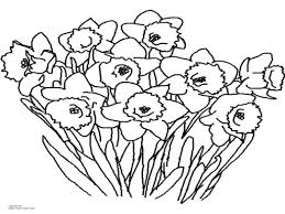 high definition simple flower colouring pages printable coloring