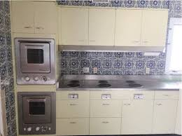 Kitchen Oven Cabinets Vintage St Charles Kitchen Cabinets With Thermador Ovens And